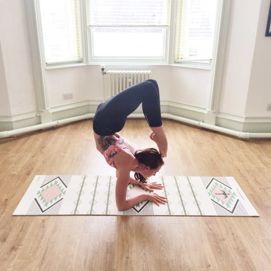 scorpion pose yoga