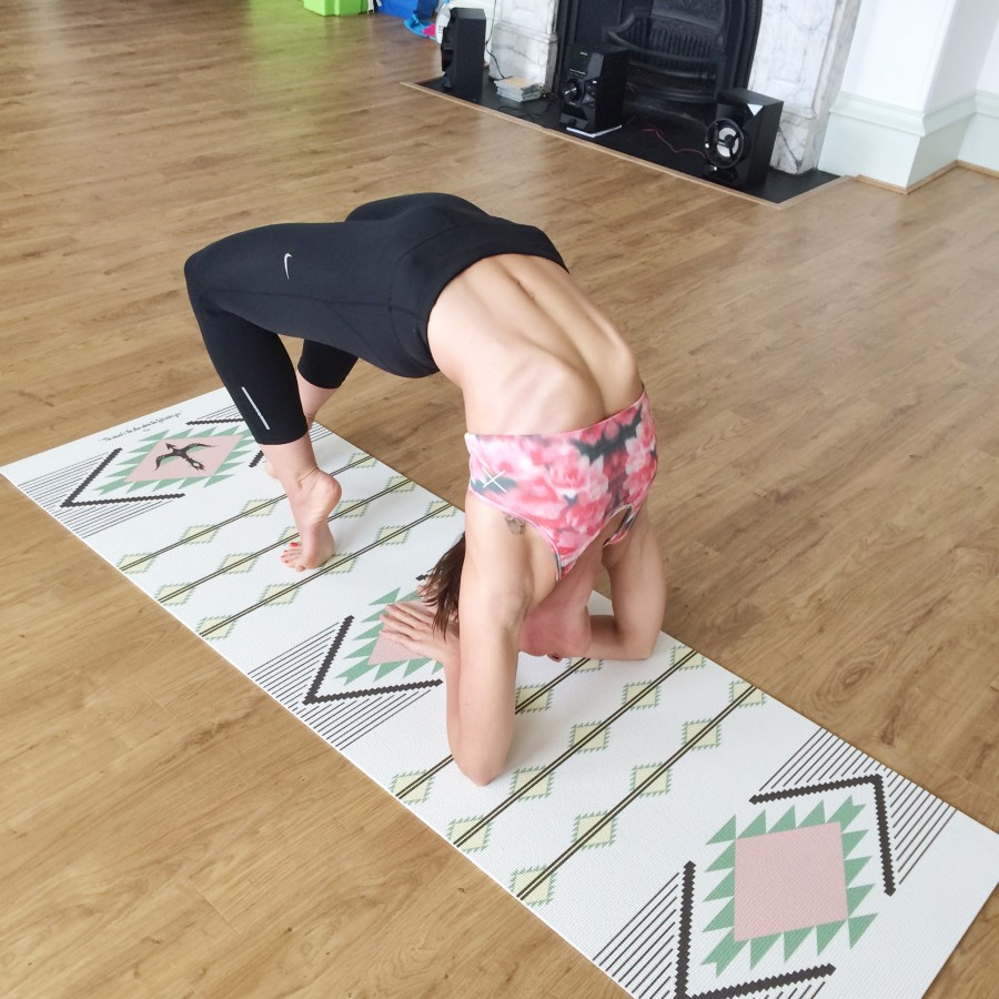 Yoga back bend