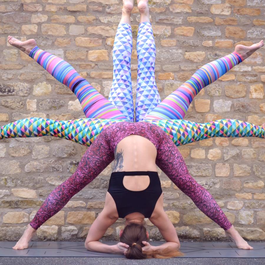 Colourful Yoga Pants