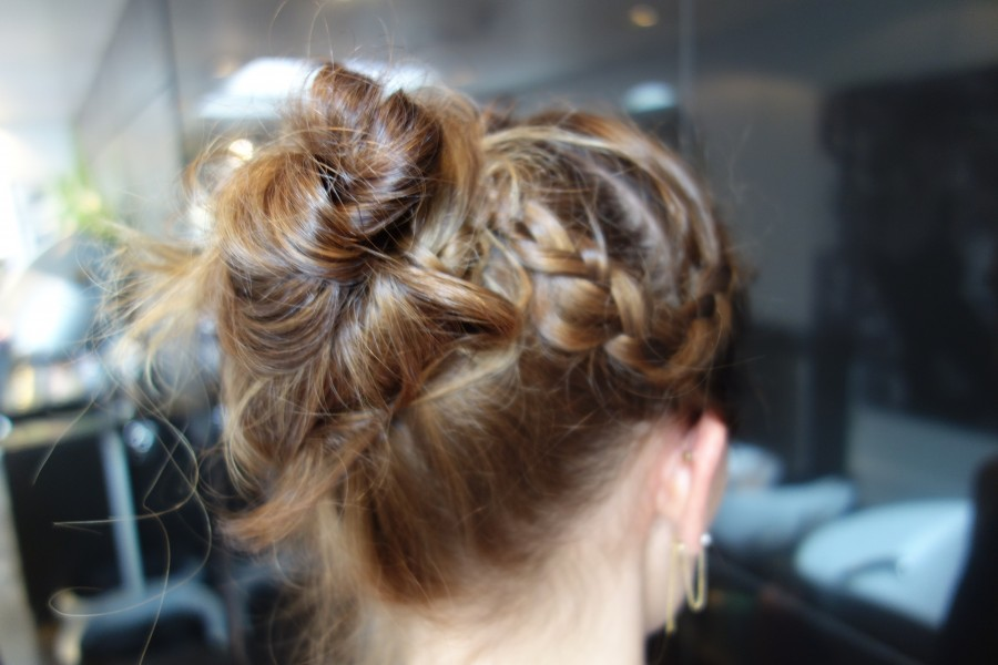fitness hairstyle